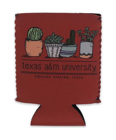 Texas A&M Aggie Kolder Kaddy Can Holder - Prickly - Front Prickly