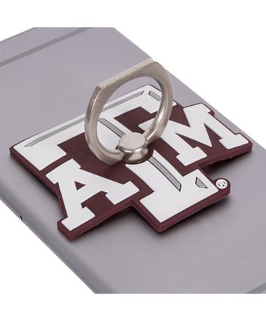 Texas A&M Cell Phone Stand Maroon/White