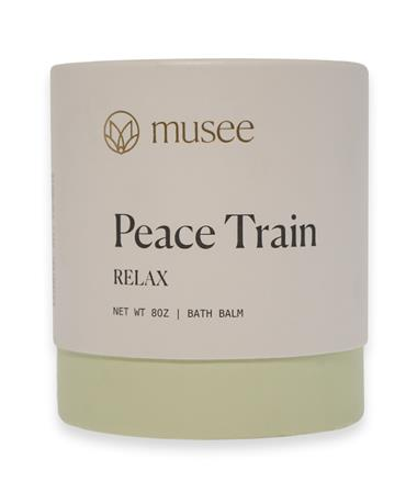 Musee Therapy Bath Bomb - Peace Train - Front Peace Train