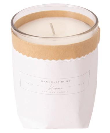 Bagged Bloom Candle Bloom