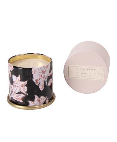 Demi Tin Candle Bloom