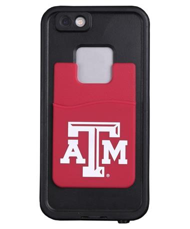 Texas A&M Cellphone ID Case White