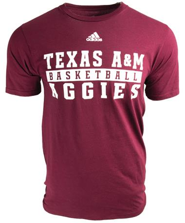 Adidas Texas A&M Sport Series Ultimate T-Shirt Basketball
