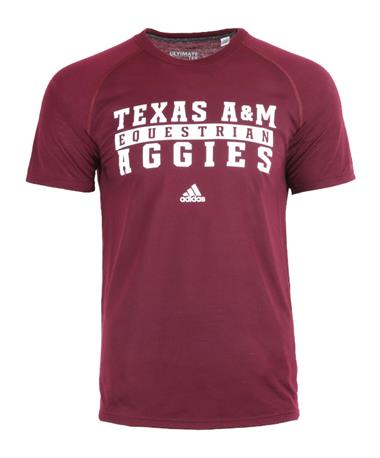 Texas A&M Adidas Sport Series Equestrian Ultimate T-Shirt