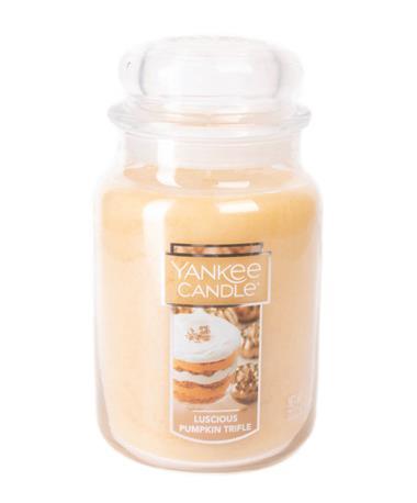 Luscious Pumpkin Trifle Yankee Candle Luscious Pumpkin