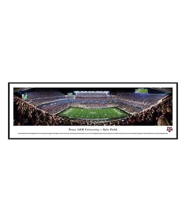 Texas A&M Kyle Field Panoramic Frame