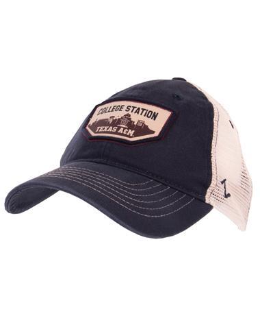 Zephyr Navy Trademark Cap - Front Navy