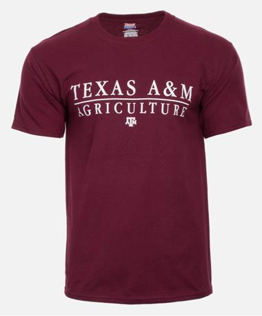 Texas A&M Agriculture College T-Shirt New Maroon