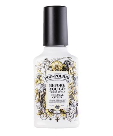 Poo Pourri 200 Use Original Citrus WHITE