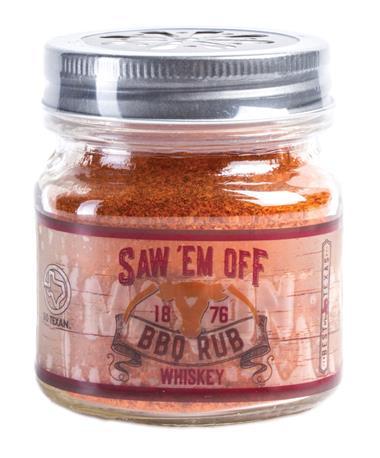 Saw `Em Off Whiskey BBQ Rub Boucaneer Whiskey Rub