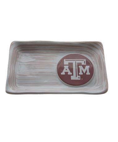 Texas A&M Mini Tray White
