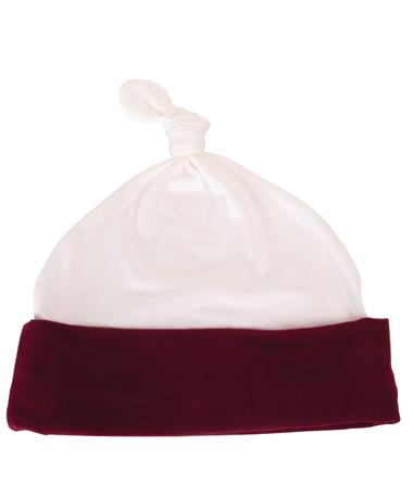 Made in College Station Infant Beanie White/Maroon White/Maroon