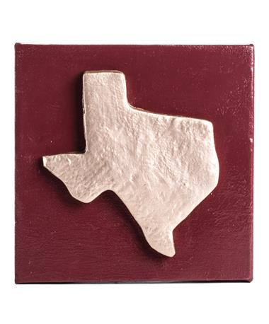Texas Gold and Maroon Canvas Gold/Maroon