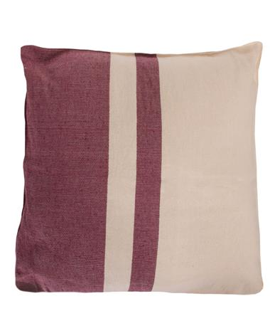 Nativa Block Pillow Maroon
