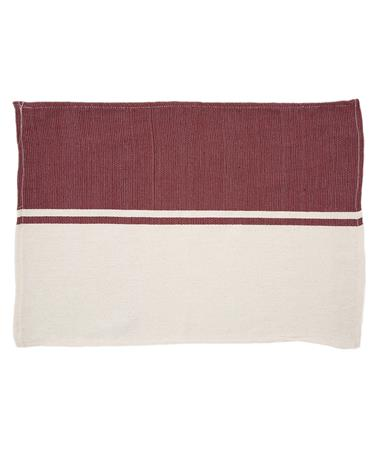 Nativa Placemat Maroon
