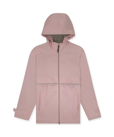 Charles River Women`s New Englander Rain Jacket Pink/Reflective
