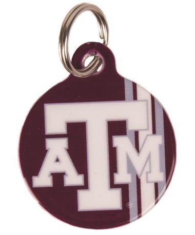 Texas A&M Dog Tag Maroon