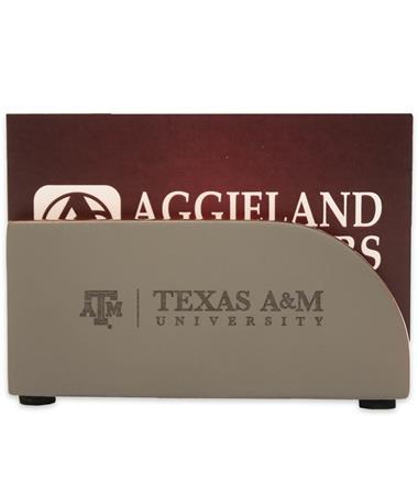 Texas A&M Concrete Business Card Holder