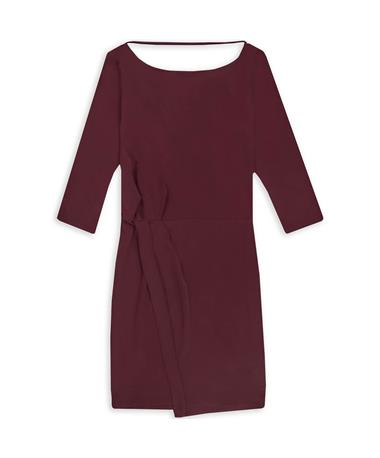 Maroon Christelle Dress