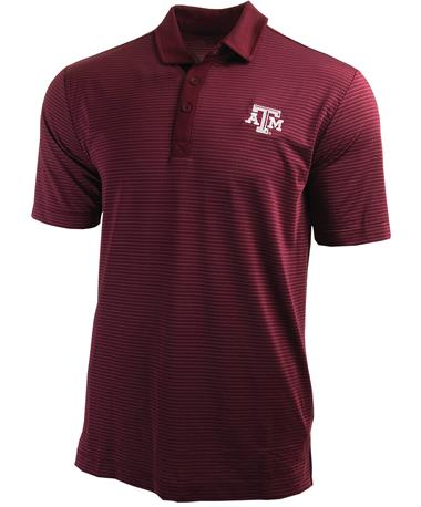 Columbia Texas A&M Omni-Wick Sunday Polo - Front Maroon