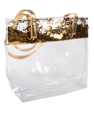 Packed Party Gold Stadium Tote Bag