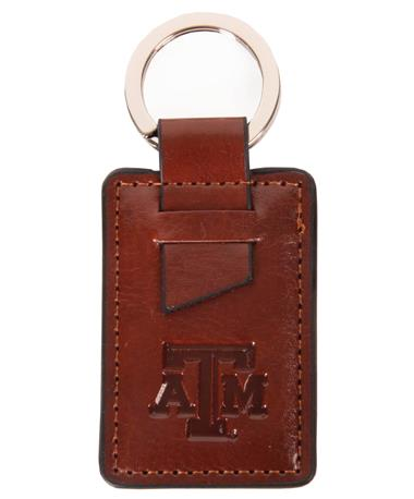 Fabrizo Siena Key Tag Brown
