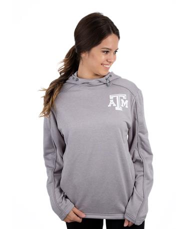 Texas A&M Spark Pullover Hoodie Oxford Grey