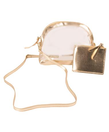 Half Moon Crossbody Gold