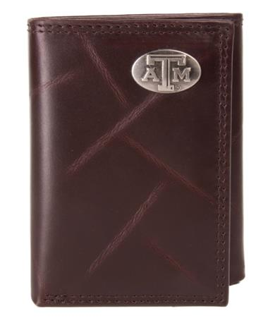 Texas A&M Wrinkle Trifold Closed