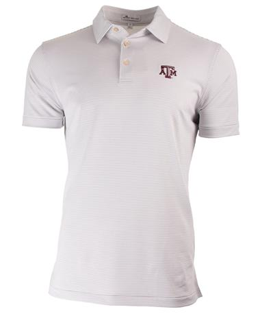 Peter Millar Texas A&M Graduate Stripe - Front Black/White