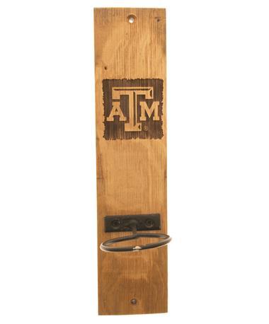 Texas A&M Wine Barrel Candle Sconce TXAM