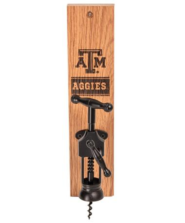 Texas A&M Aggies Wine Barrel Bottle Opener AGGIE