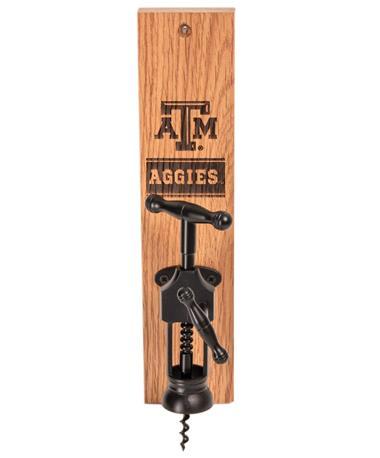 Texas A&M Aggies Wine Barrel Bottle Opener AGGIE