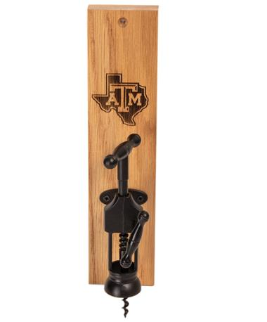 Texas A&M Lone Star Wine Bottle Opener STATE