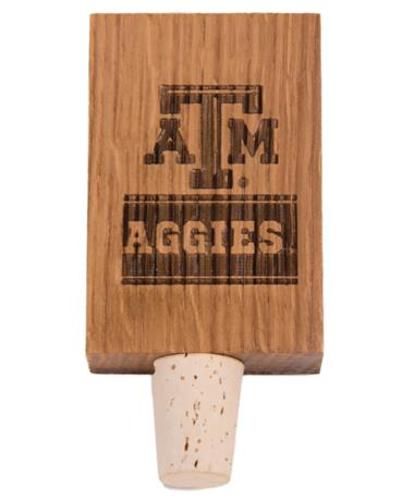 Texas A&M Aggies Stave Bottle Stopper AGGIE