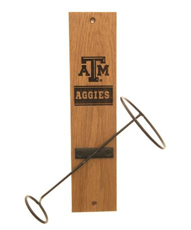 Texas A&M Aggies Wine Bottle Display AGGIE