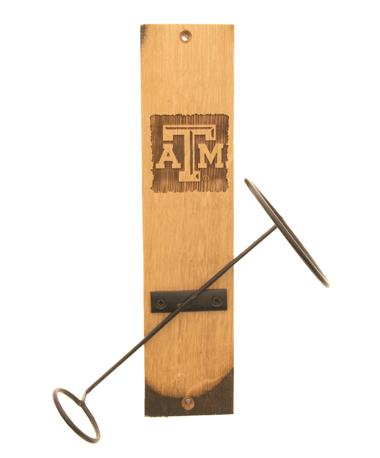 Texas A&M Wine Bottle Display TXAM