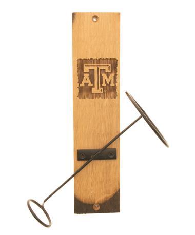 Texas A&M Wine Bottle Display TXAM