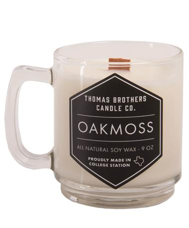 Thomas Brother Candle - Oakmoss Multi