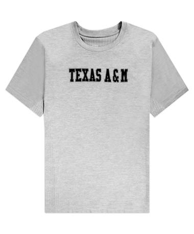 Texas A&M Gray Athletic T-Shirt