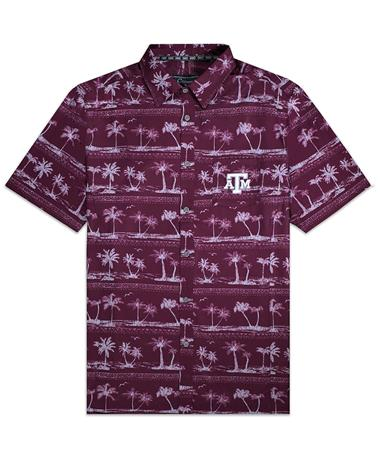 Texas A&M Colosseum Hilo Camp Button Down
