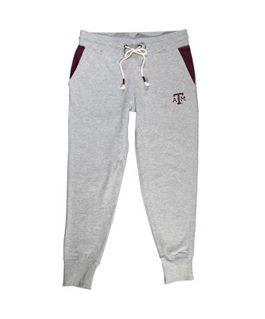 Texas A&M Colosseum Arezzo Capri - Laid Flat Heather Grey