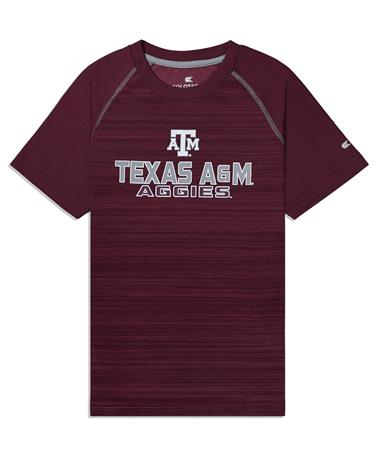 Texas A&M Aggies Buenos Aires Youth Tee - Front Maroon