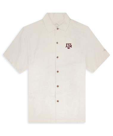 Texas A&M Tommy Bahama Al Fresco Tropics Button Down-Front Continental