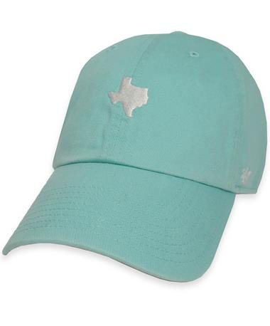 `47 Brand Small Texas State Baserunner - Tiffany Blue - Front TIFFANY BLUE