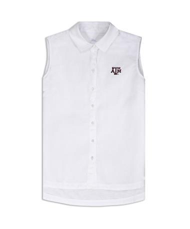 Texas A&M Tommy Bahama Sport Sea Glass Breezer - White - Front White