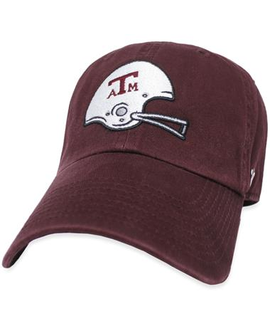 Texas A&M '47 Brand Football Helmet Cap