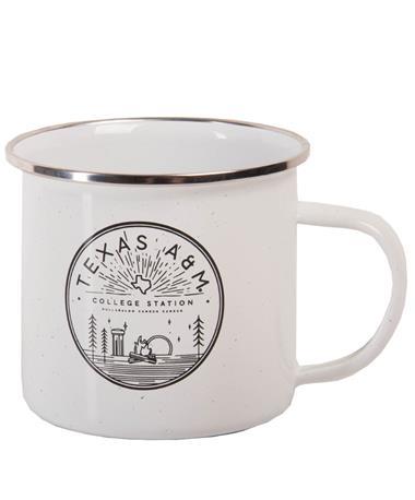 Stainless Santa Fe Festival Cup White