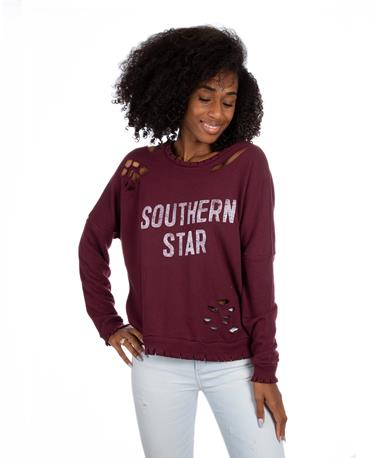 Southern Star Sweatshirt Wine