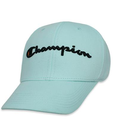 Champion Classic Twill Hat - Waterfall Green - Angled Waterfall Green